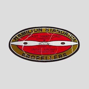 Retro Hamilton Standard Propellers Logo Patch