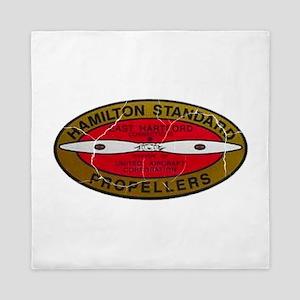 Retro Hamilton Standard Propellers Logo Queen Duve