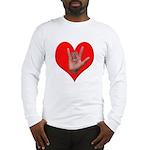 ILY Heart Long Sleeve T-Shirt