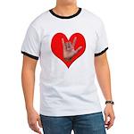 ILY Heart Ringer T