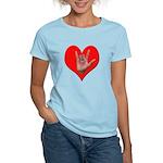 ILY Heart Women's Light T-Shirt