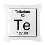 52. Tellurium Woven Throw Pillow