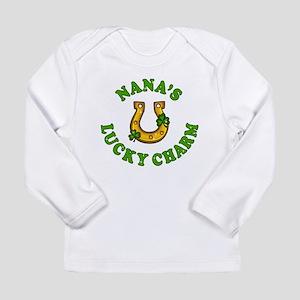 Nana's Lucky Charm Long Sleeve T-Shirt