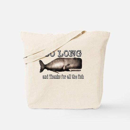 Funny Douglas adams Tote Bag