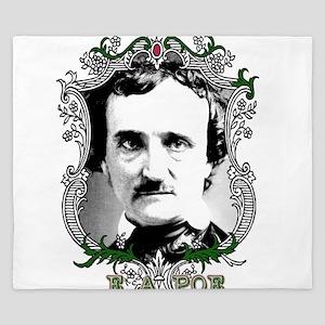 Edgar Allan Poe King Duvet