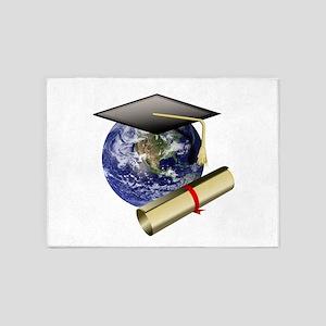 World Class Graduate - Graduation C 5'x7'Area Rug