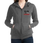 Kiss Me I'm Vaccinated Women's Zip Hoodie
