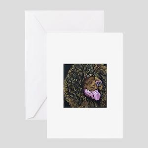 Irish Water Spaniel Greeting Cards