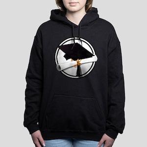 Graduation Cap with Dipl Women's Hooded Sweatshirt
