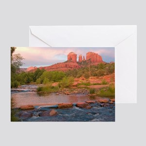 Sedona Red Rock Crossing Greeting Card