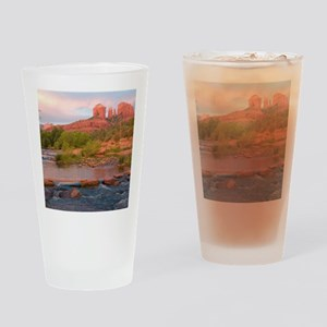 Sedona Red Rock Crossing Drinking Glass