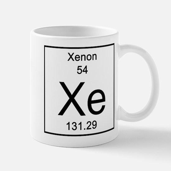 Periodic table xenon gifts merchandise periodic table xenon gift 54 xenon mugs urtaz Image collections