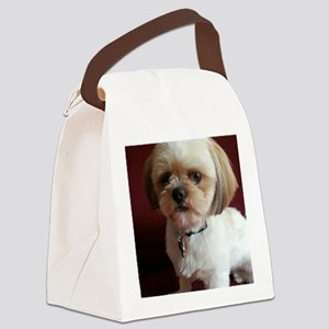 Rescue pup Canvas Lunch Bag