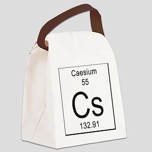 55. Caesium Canvas Lunch Bag