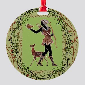 Artemis Round Ornament