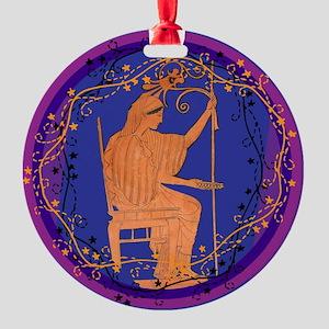 Hera Round Ornament