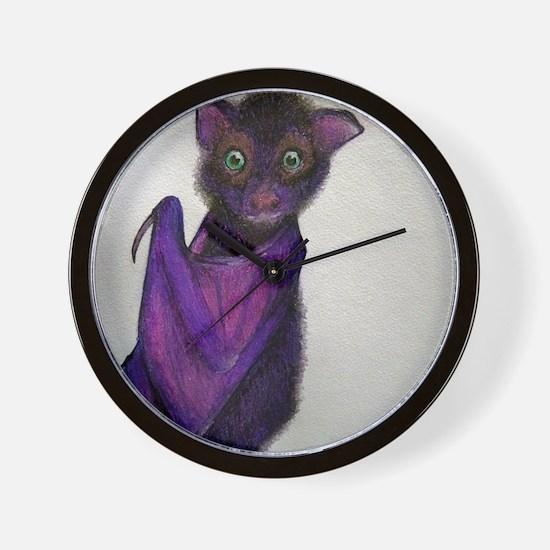 Cute Baby bats Wall Clock