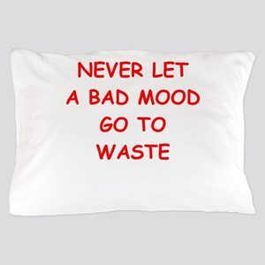 bad mood Pillow Case