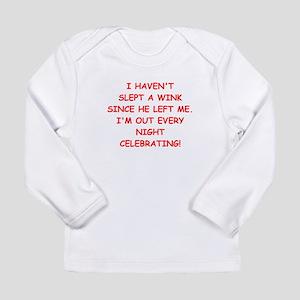 divorce Long Sleeve T-Shirt
