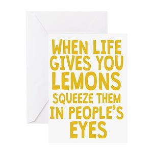 Lemon greeting cards cafepress m4hsunfo