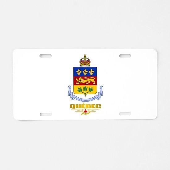 Quebec COA Aluminum License Plate