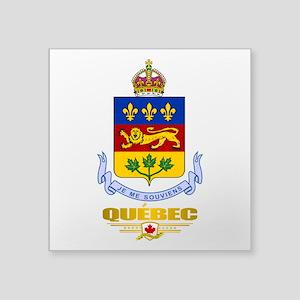 Quebec COA Sticker