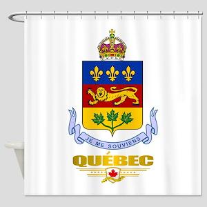 Quebec COA Shower Curtain