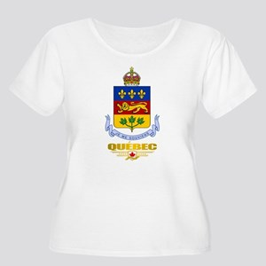 Quebec COA Plus Size T-Shirt