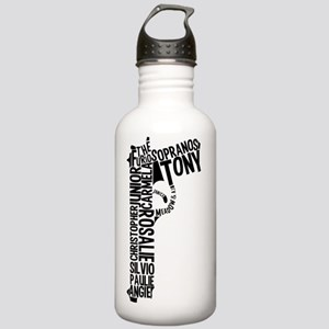 Sopranos Text Stainless Water Bottle 1.0L
