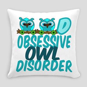 Pretty Owl Everyday Pillow
