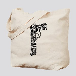 Sopranos Text Tote Bag