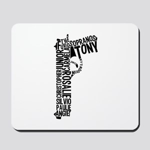Sopranos Text Mousepad