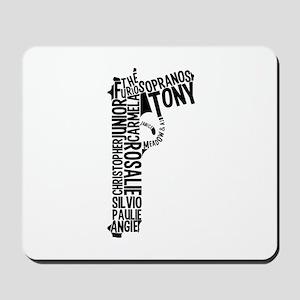 Sopranos Text Mousepad