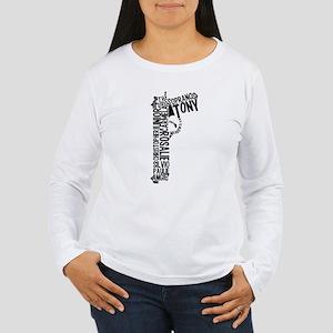 Sopranos Text Long Sleeve T-Shirt