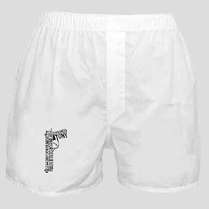 Sopranos Text Boxer Shorts