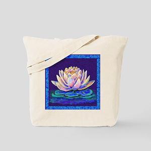 lotus blossum Tote Bag
