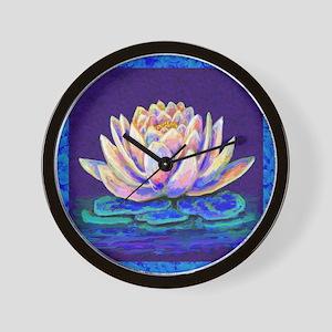 lotus blossum Wall Clock