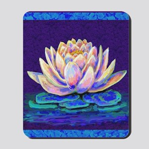 lotus blossum Mousepad