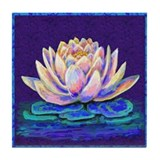 Lotus Tile Coasters