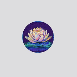 lotus blossum Mini Button