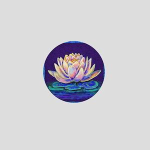 lotus blossum Mini Button