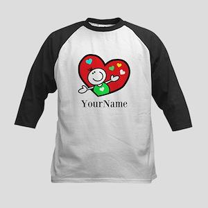 Happy Heart (p) Baseball Jersey