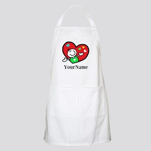 Happy Heart (p) Apron