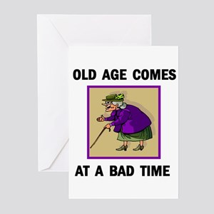 OLD AGE Greeting Cards (Pk of 10)