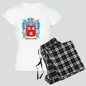 Robertson Coat of Arms - Fa Women's Light Pajamas