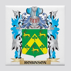 Robinson Coat of Arms - Family Crest Tile Coaster