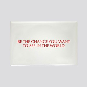 Be the change you want to see in the world-Opt red