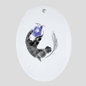 OTTB Oval Ornament