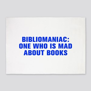 Bibliomaniac One who is mad about books-Akz blue 4
