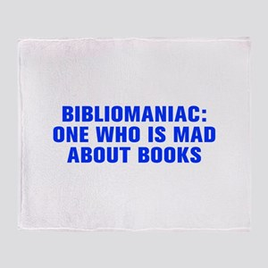 Bibliomaniac One who is mad about books-Akz blue 4